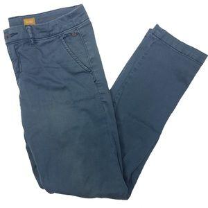 Anthro. Pilcro & the Letterpress Blue Hyphen Pants